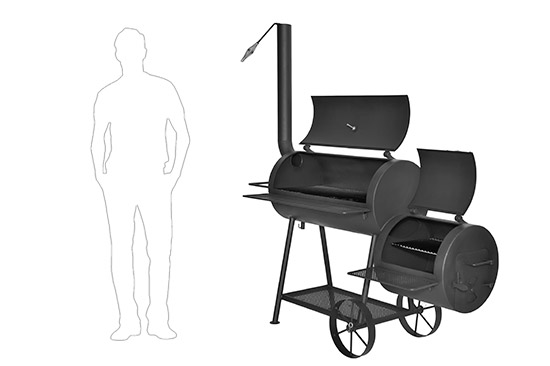 Коптильня горячего копчения в домашних условиях купить самогонный аппарат комсомолец 15 л 100 t